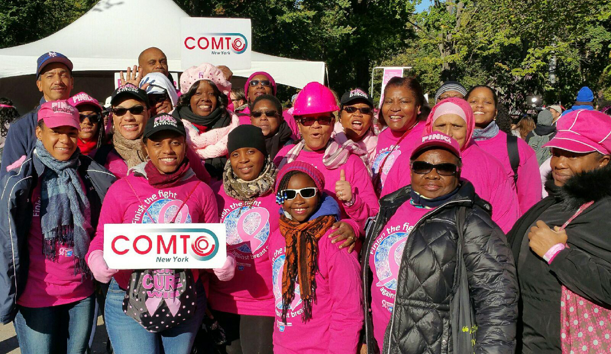 2015 COMTO-NY Making Strides Breast Cancer Walk